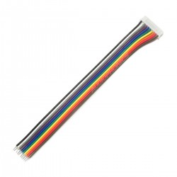 XH 2.54mm Ribbon Cable Female to Bare Wires 40 Poles 1 Connector 20cm (Unit)