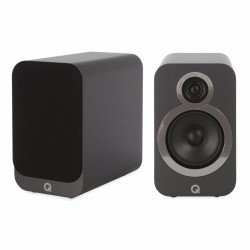 Q Acoustics 3020i Bookshelf speaker Graphite Black (Pair)
