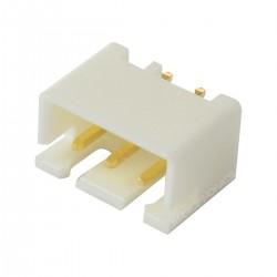 Connecteur JST XH 2.54mm Mâle 3 Voies Plaqué Or (Unité)