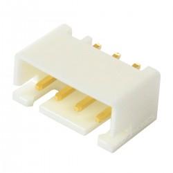 Connecteur JST XH 2.54mm Mâle 4 Voies Plaqué Or (Unité)