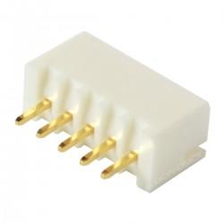 Connecteur JST XH 2.54mm Mâle 5 Voies Plaqué Or (Unité)