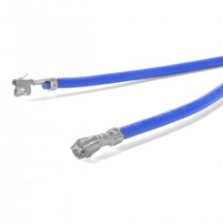 Câble XH femelle vers XH femelle 2.54mm Bleu 15cm (x10)