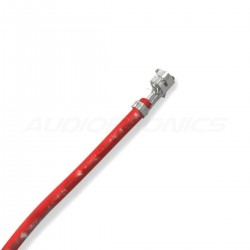 XH 2.54mm Female / Female Cable 1 Poles No Casing Red 15cm (x10)