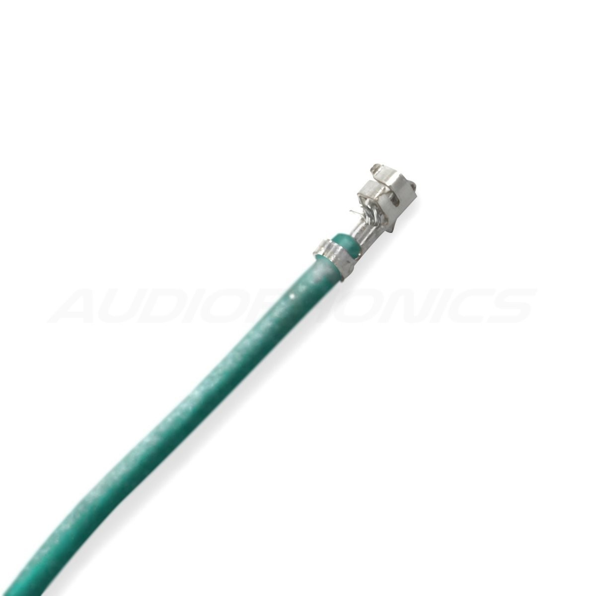 XH 2.54mm Female / Female Cable 1 Poles No Casing Green 15cm (x10)