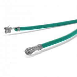Câble XH mâle vers XH mâle 2.54mm Rouge 15cm (x10)