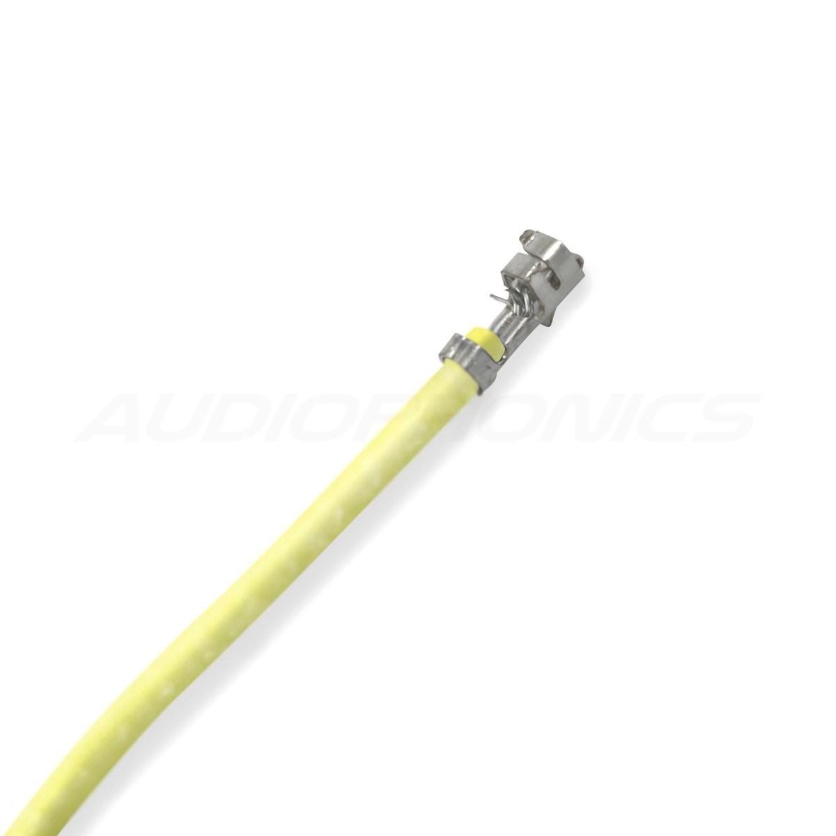 Câble XH 2.54mm Femelle / Femelle Sans Boîtier Jaune 15cm (x10)