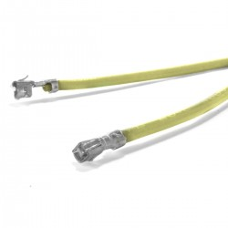 Cable XH male to XH male 2.54mm Yellow 15cm (x10)