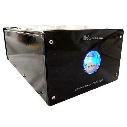 BADA LB-5600 Filtre Secteur 6 Ports Schuko - Noir