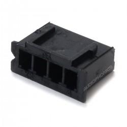Boîtier XH 2.54mm Femelle 4 Voies Noir (Unité)