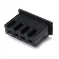 Connecteur Embase XH 2.54mm Femelle 4 Voies Noir (Unité)