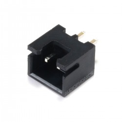 Male 2 Channels XH 2.54mm Connector Black (Unit)