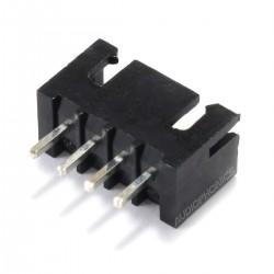 Connecteur Embase XH 2.54mm Mâle 4 Voies Noir (Unité)