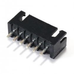 Connecteur Embase XH 2.54mm Mâle 6 Voies Noir (Unité)
