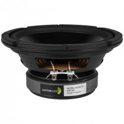 DAYTON AUDIO DC160-8 Speaker Driver Woofer 50W 8 Ohm 86dB 30Hz - 4000Hz Ø16.5cm