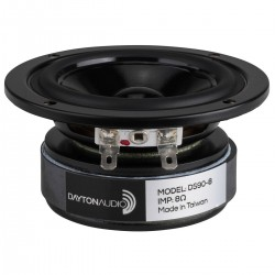 DAYTON AUDIO DS90-8 Design Series Speaker Driver Full Range 20W 8 Ohm 84dB 80Hz - 13kHz Ø8cm