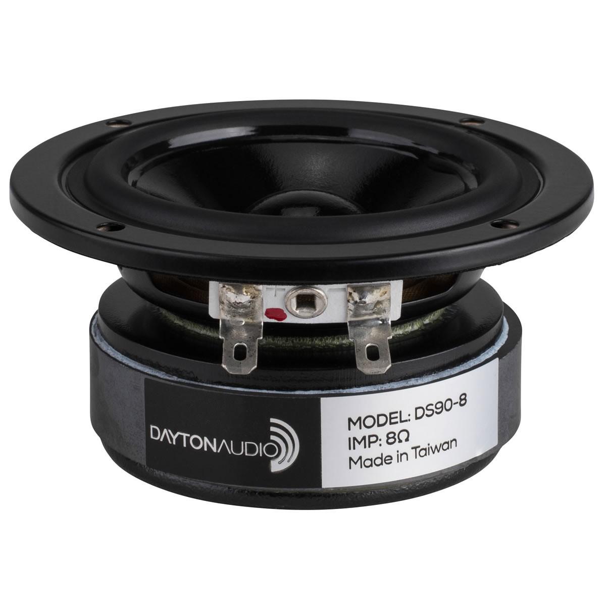DAYTON AUDIO DS90-8 Design Series Speaker Driver Full Range 20W 8 Ohm 84dB 80Hz - 13kHz Ø8cm