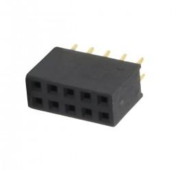 Connecteur Barrette Droit Femelle / Mâle 2x5 Pins 2.54mm