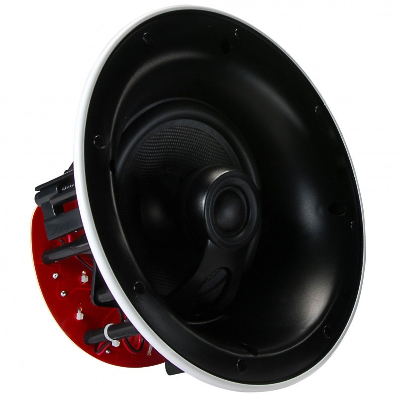 DAYTON AUDIO ME650C 152mm-13mm LCRS Angle at 15 ° Recessed speaker