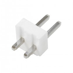Pin Header Straight Connector VH 3.96mmMale / Male 2 Channels (Unit)