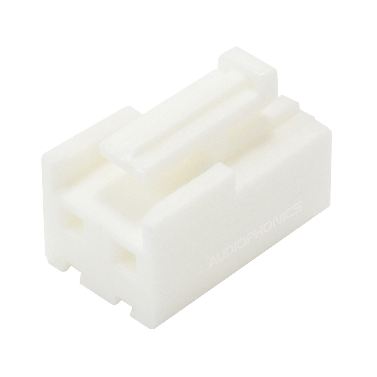 Boîtier VH 3.96mm Femelle 2 Voies Blanc (Unité)