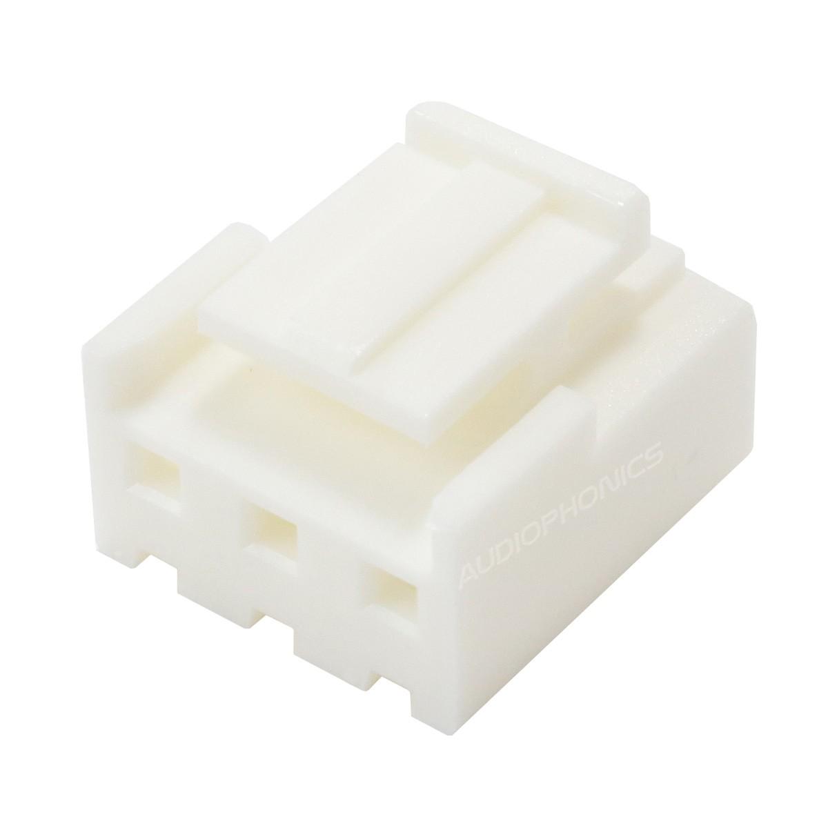 Boîtier VH 3.96mm Femelle 3 Voies Blanc (Unité)