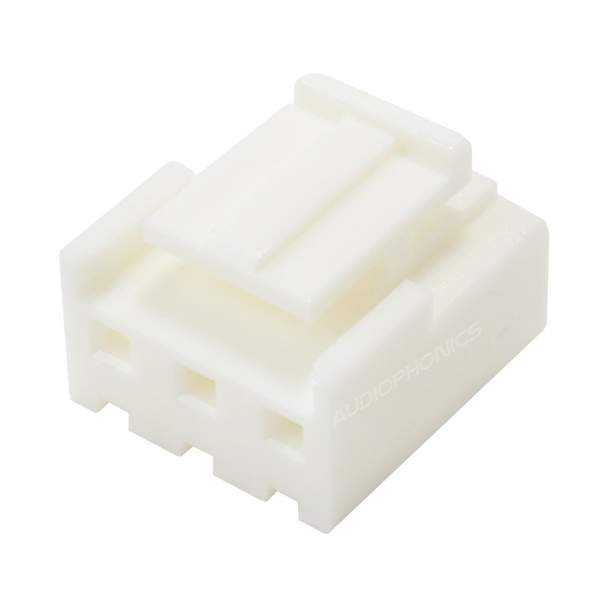 VH 3.96mm Female Casing 3 Channels White (Unit)