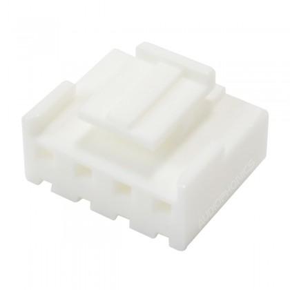 Connecteur VH 3.96mm Femelle 4 Voies Blanc (Unité)