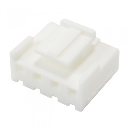 4 Channels VH 3.96mm Female Connector White (Unit)
