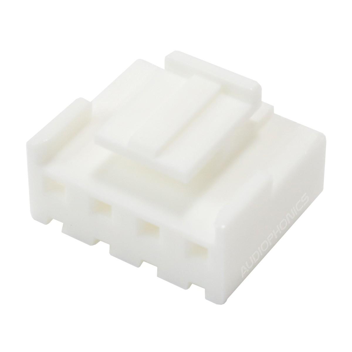 Boîtier VH 3.96mm Femelle 4 Voies Blanc (Unité)