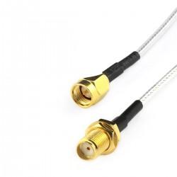 TINYSINE SMA-MF Male SMA to Female SMA Antenna Cable 10cm