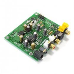 DAC ES9038Q2M Module I2S Coaxial Optique 32bit 384kHz DSD
