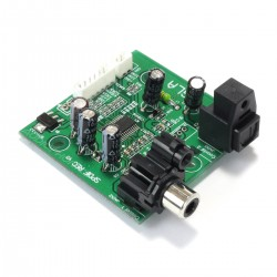 Input Selector Module with Switch CS8416 Coaxial Optique to I2S