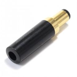 Connecteur d'Alimentation Jack DC 5.5 / 2.5mm Plaqué Or Noir (Unité)