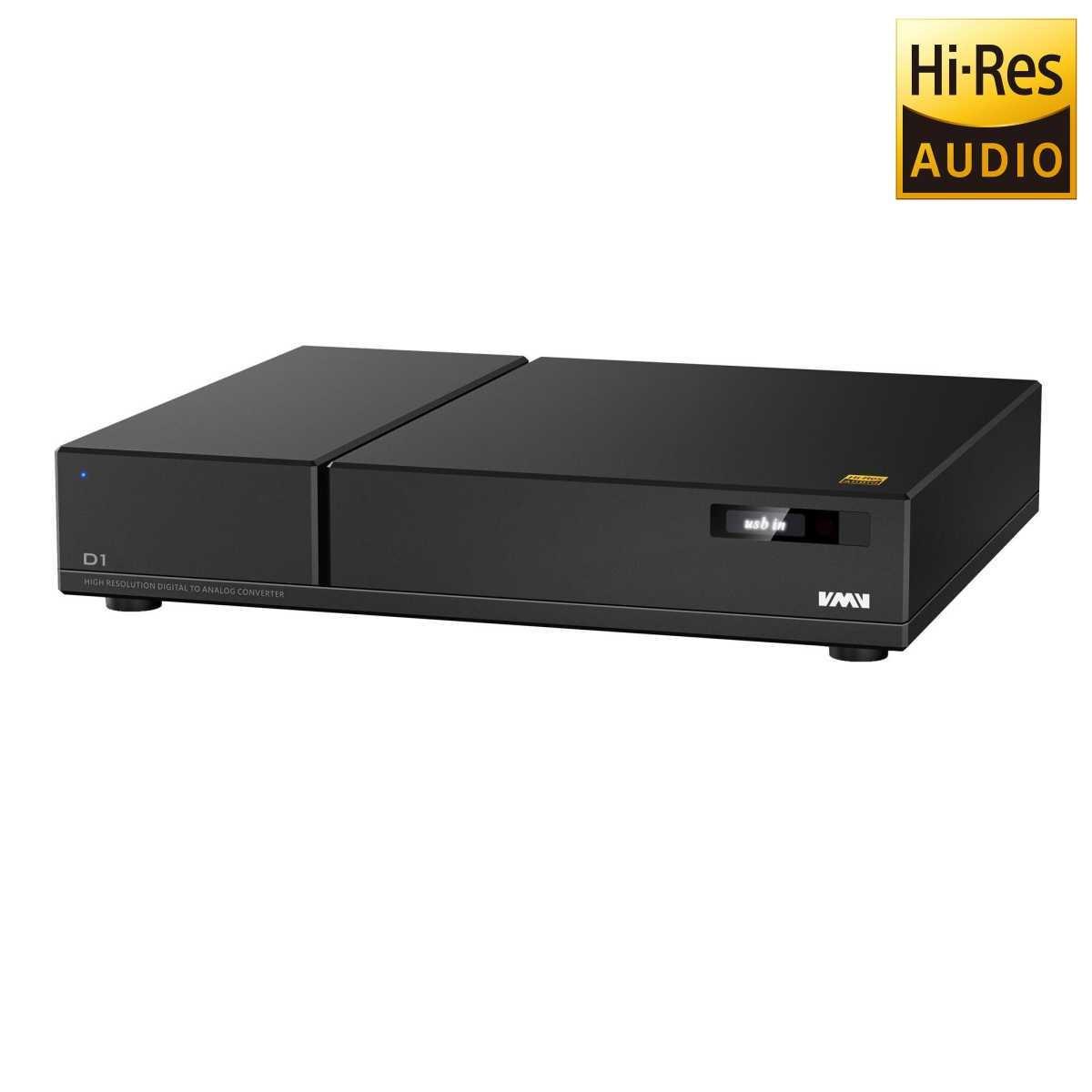 SMSL D1 DAC 2x ES9038PRO Symétrique CPLD ALTERA XMOS 32Bit / 768kHz DSD Noir