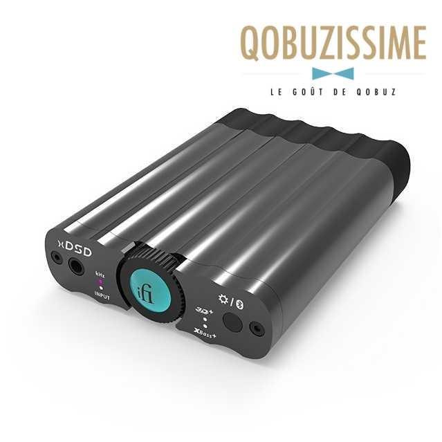 iFi Audio xDSD DAC USB / Amplificateur casque nomade 32Bit / 768kHz DSD512