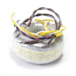 Transformateur Torique 40VA 2x15V + 2x6V