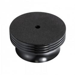 DYNAVOX PST420 Palet Presseur / Stabilisateur Aluminium pour Platine Vinyle Noir