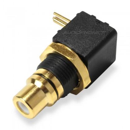 Elecaudio ER-106 Embase RCA pour CI (La paire)