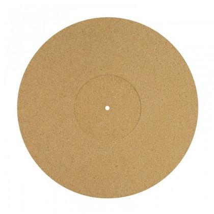 DYNAVOX PM2 Couvre-Plateau Liège pour Platine Vinyle Ø 30cm