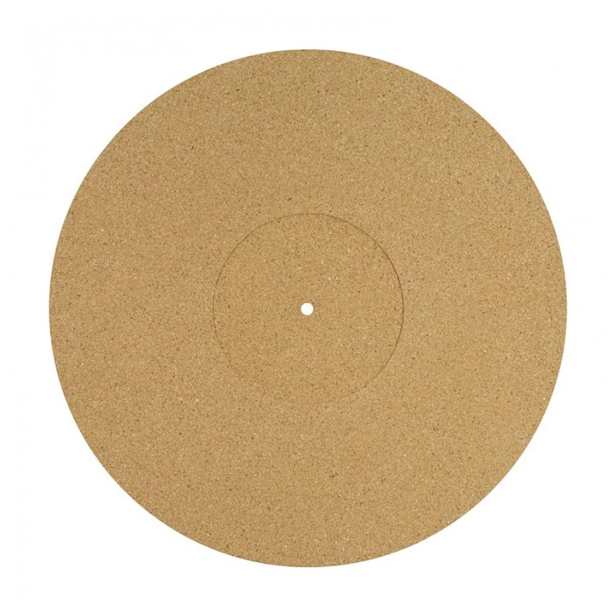 DYNAVOX PM3 Couvre-Plateau Liège pour Platine Vinyle Ø 30cm