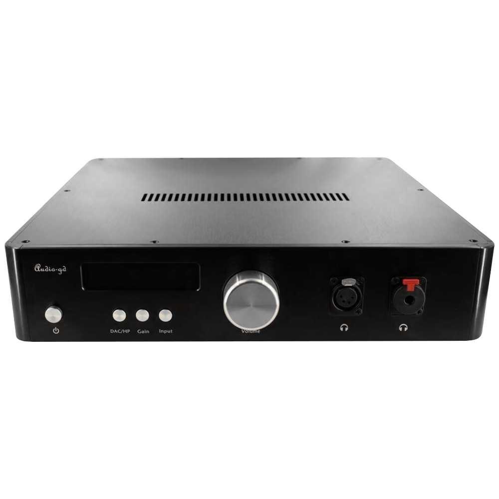 AUDIO-GD R-28 2020 EDITION DAC R2R DSD Natif I2S ACSS Amanero / Préampli / Ampli casque / Télécommande