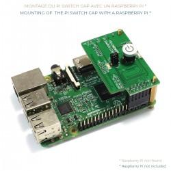 NANOSOUND PI SWITCH CAP Module Interrupteur ON / OFF pour Raspberry Pi & Télécommande IR Multimédia