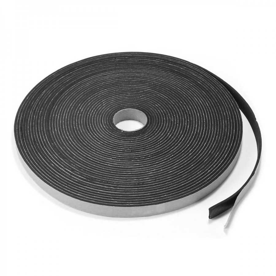 EVA Gasket for Speakers 10x3mm Black