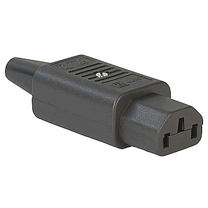 Connecteur IEC C13 SCHURTER 4782 3x2.5mm² RoHS Ø10mm