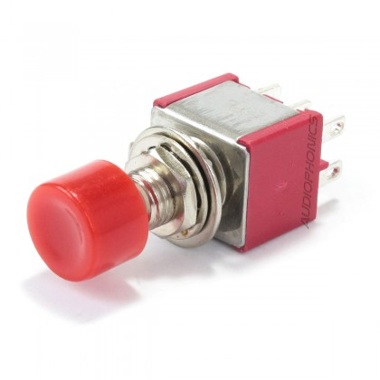 Push Button 2 Poles 4 Positions ON-ON DPDT 250V 2A / 120V 5A