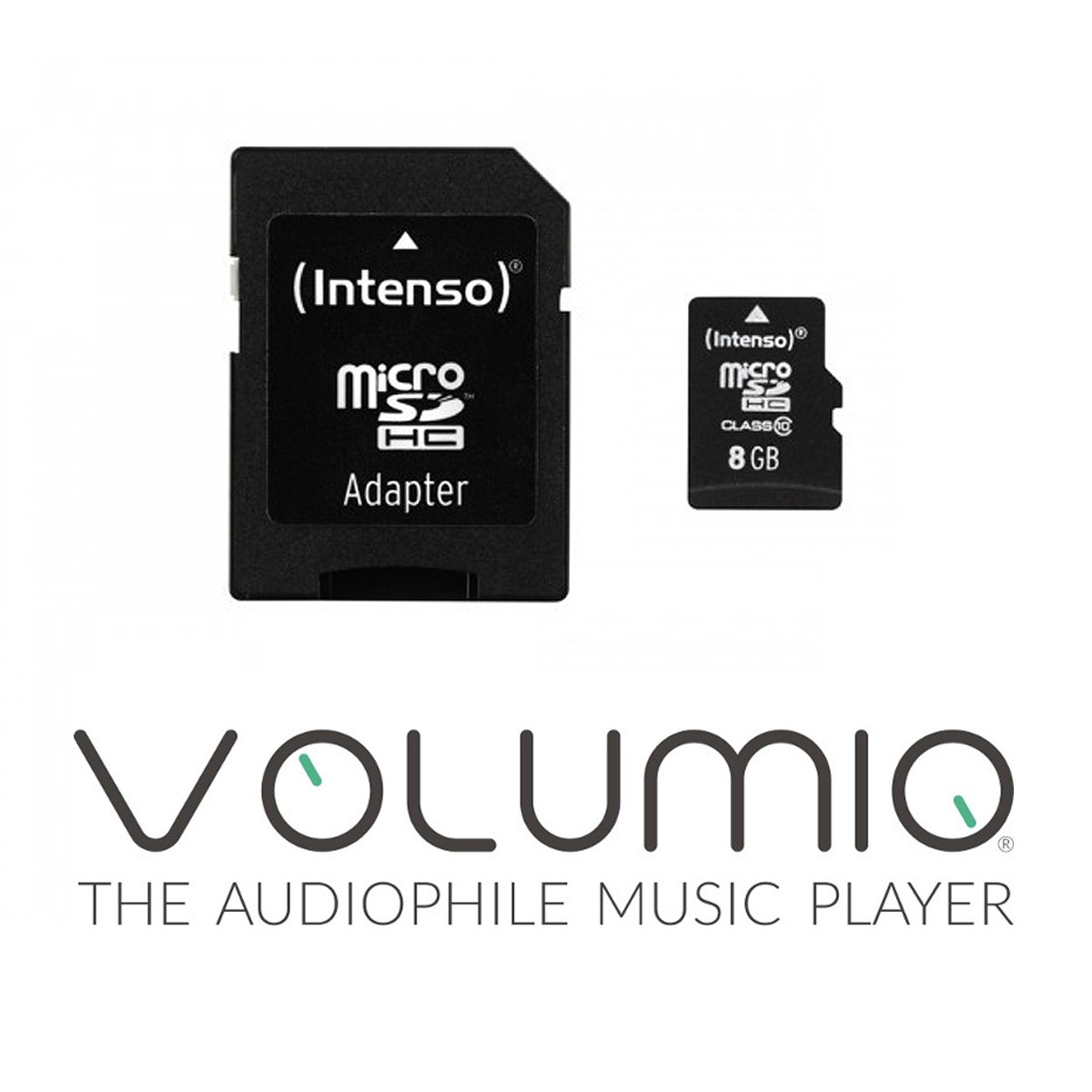 VOLUMIO Operating System Installation Service on 8GB Micro SD Card