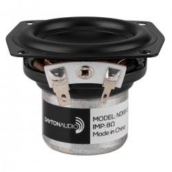 DAYTON AUDIO UM15-22 Speaker Driver Full Range Aluminium 15W 8 Ohm 81dB 80Hz - 20kHz Ø6.3cm