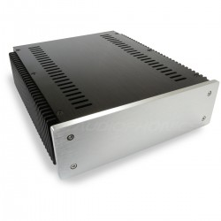 DIY Box / Case 100% Aluminium with heatsink 271x226x70mm