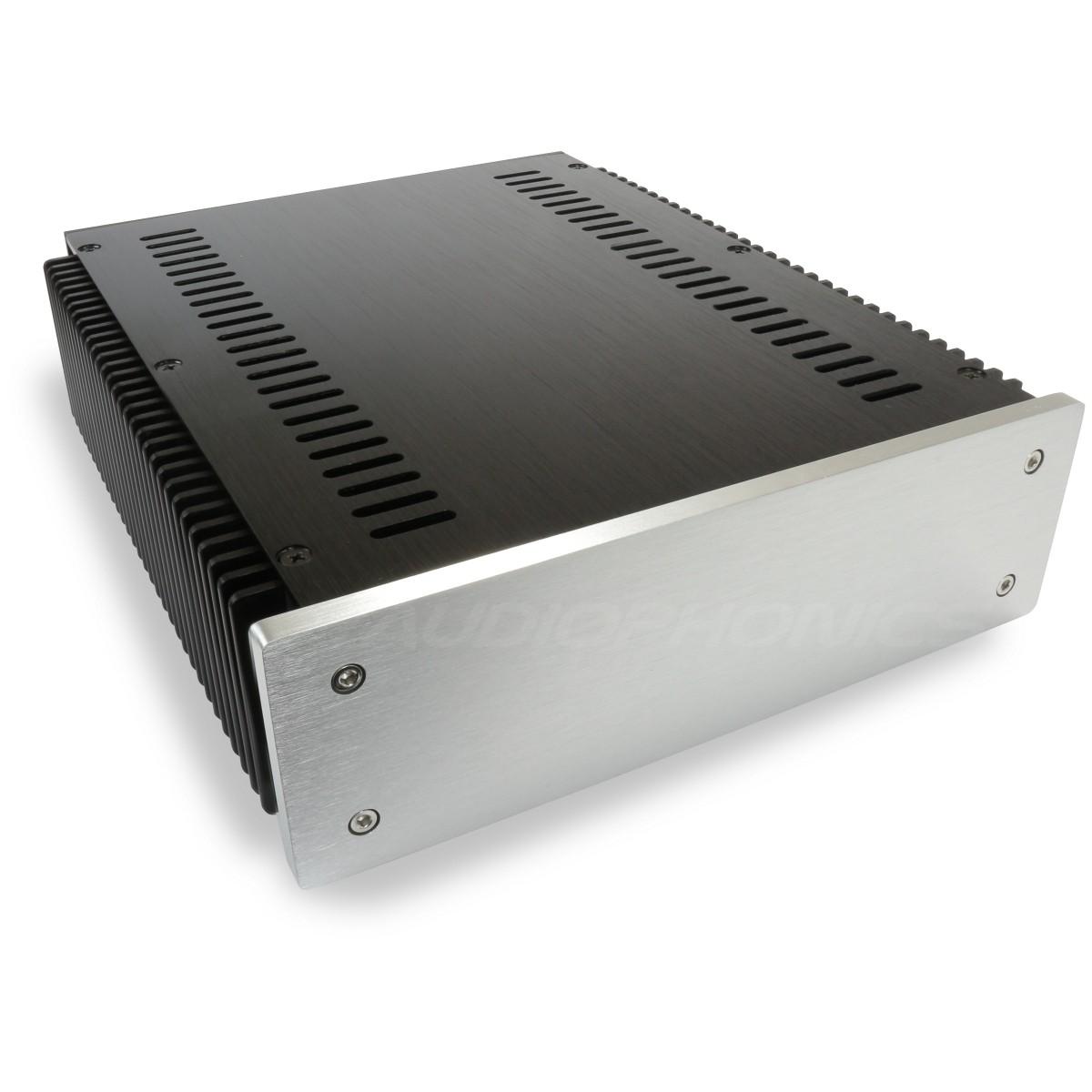 DIY Box / Case 100% Aluminium with heatsink 271x226x70mm