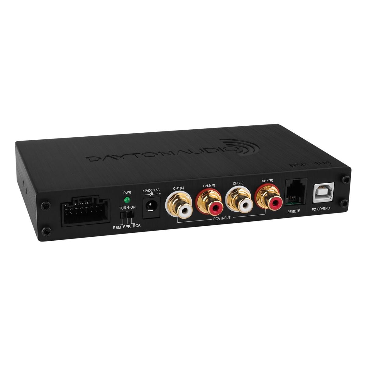 DAYTON AUDIO DSP-408 4x8 Digital Audio Processor DSP ADAU1701 SigmaDSP 25/56bit 4 to 8 Channels